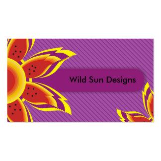 Wild Sun Designs Business Cards