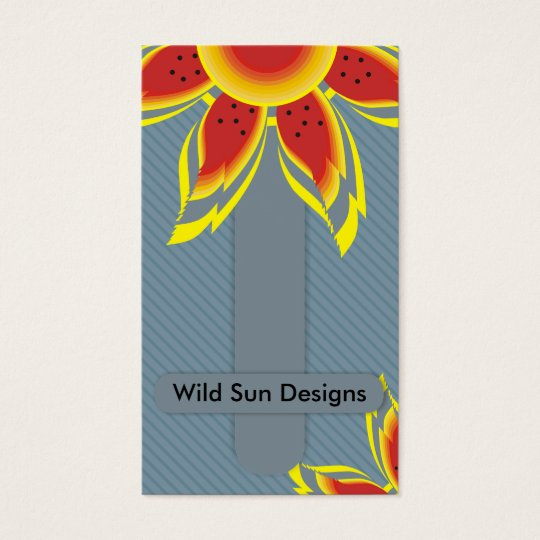 Wild Sun Designs Business Cards