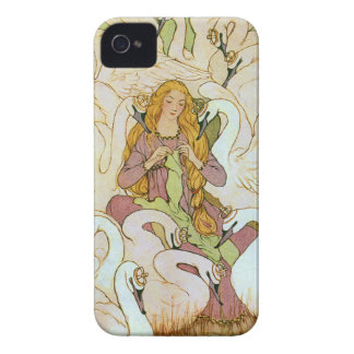 Wild Swans Fairy Tale iPhone 4 Cover