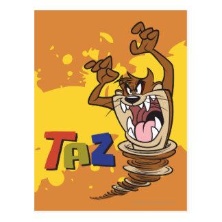Wild TAZ™ Postcard