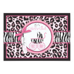 "Wild Thing Invitation Card 5"" X 7"" Invitation Card"