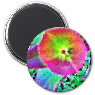 Wild Thing - Neon Colours 6 Cm Round Magnet