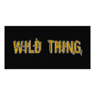 Wild Thing Picture Card
