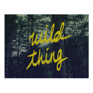 Wild Thing Postcard