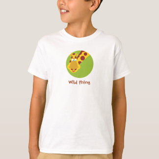 Wild Thing - Shirt - Giraffe