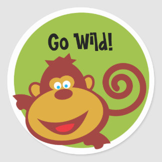 Wild Thing - Sticker - Monkey