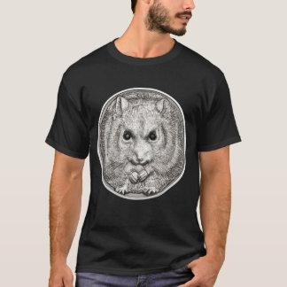 WILD THINGS: Silver Hamster - Black T-Shirt