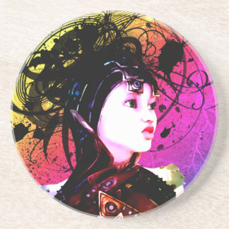 Wild Thoughts Drink Coaster