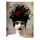 Wild Thoughts Surreal Gothic Art Postcard