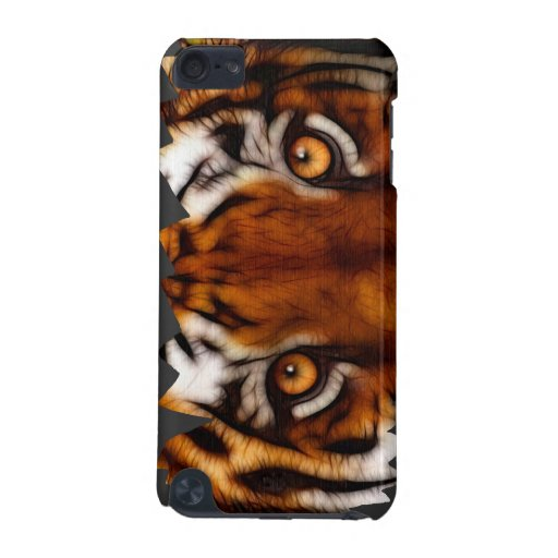 Wild Tiger Eyes Big Cat Wildlife Ipod Case iPod Touch 5G Covers