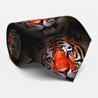 Wild Tiger Eyes Tie