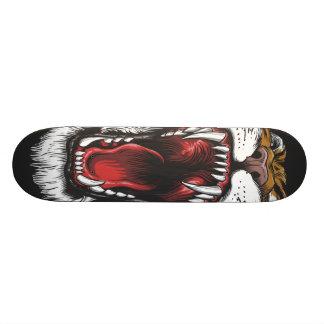 Wild Tiger Face Skateboard