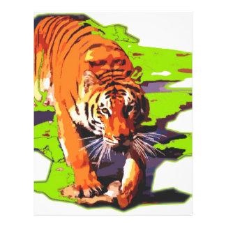 Wild Tiger Flyer Design