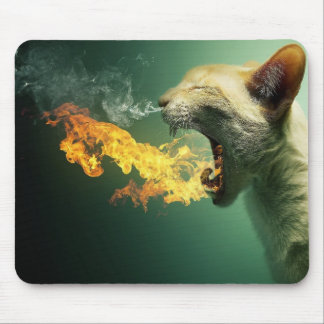 Wild Tiger Mouse Pod Mouse Pad