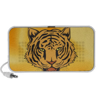 Wild Tiger peace and confidence Laptop Speaker