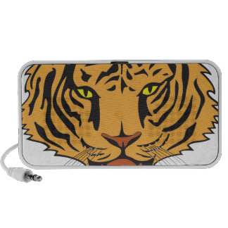 Wild Tiger peace and confidence iPhone Speakers