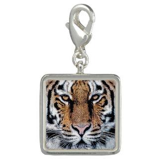 Wild Tiger Portrait Graphic Press Style