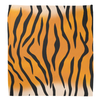 Wild Tiger Stripes Bandana