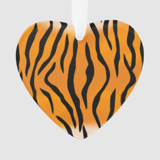 Wild Tiger Stripes Pattern