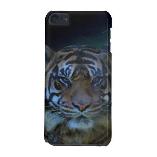 Wild Tiger Watercolor Wildcat iPod Touch (5th Generation) Case