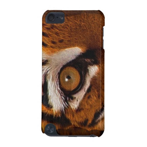 Wild Tiger's Eye Big Cat Wildlife Ipod Case iPod Touch (5th Generation) Covers