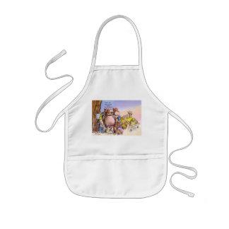 Wild times kids apron