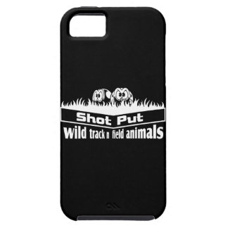wild track and field animals iPhone 5 cases