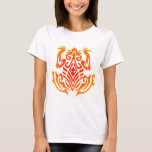 Wild Tribal Frog Tattoo T-Shirt