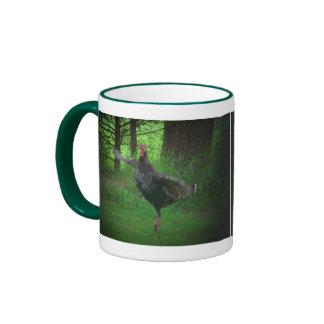 Wild Turkey and Coffee Ringer Mug