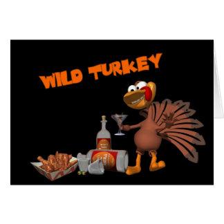 Wild Turkey Card