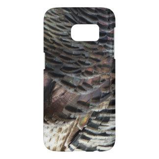 Wild Turkey Feathers I Abstract Nature Design