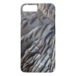Wild Turkey Feathers II Abstract Nature Design iPhone 7 Plus Case