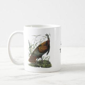 Wild Turkey, John Audubon Basic White Mug