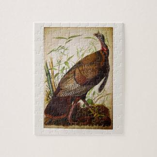 Wild Turkey, John James Audubon Fine Art Jigsaw Puzzle