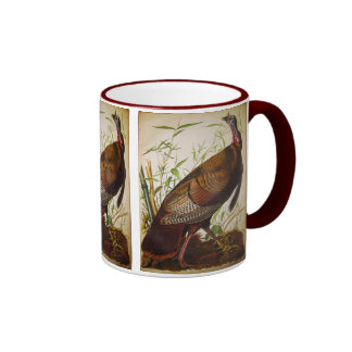 Wild Turkey, John James Audubon Mug