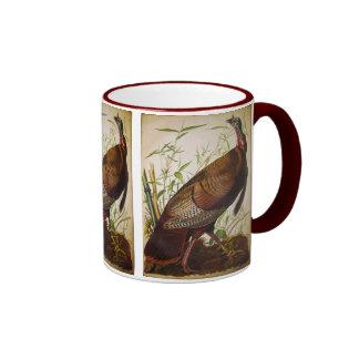 Wild Turkey, John James Audubon Ringer Mug
