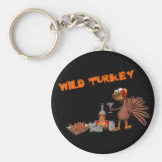 Wild Turkey Keychain