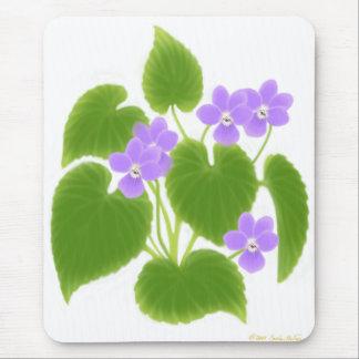 Wild Violets Mousepad