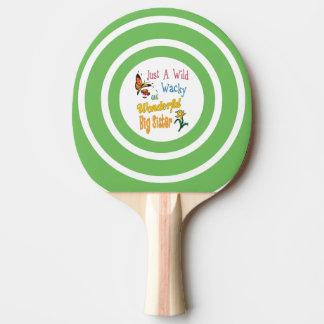 Wild Wacky Wonderful Big Sister Gifts Ping Pong Paddle