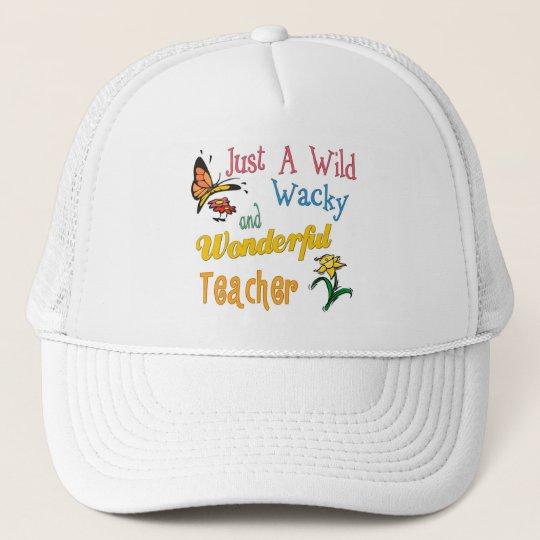 Wild Wacky Wonderful Teacher Cap