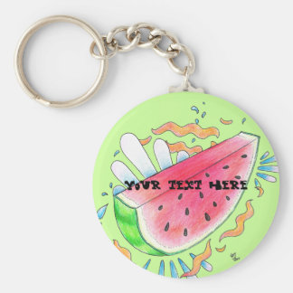 Wild Watermelon Key Chain