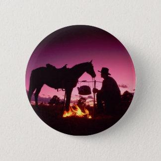 Wild West Camping 6 Cm Round Badge