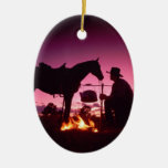 Wild West Camping Christmas Tree Ornaments
