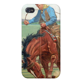 Wild West Cowboy Covers For iPhone 4