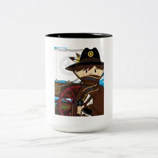 Wild West Cowboy Sheriff Coffee Mug