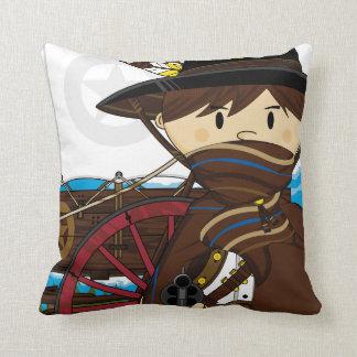 Wild West Cowboy Sheriff Pillow