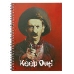 Wild West Outlaw Note Pad Note Book