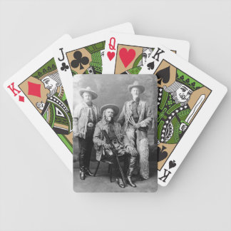 Wild West Pawnee Bill and Buffalo Bill image Poker Deck