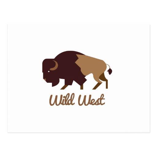 Wild West Postcard