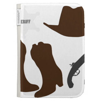 Wild West Sheriff Case For Kindle